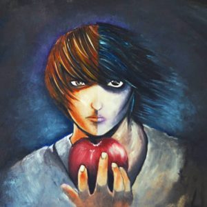 death-note-oil-painting